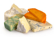 Set of cheese Royalty Free Stock Image