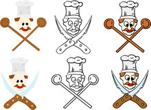 Set of chef Royalty Free Stock Photo
