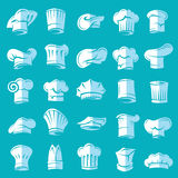 Set of chef hats Stock Photography