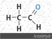 Set of chemistry. Organic formulas Royalty Free Stock Images