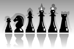 Set of chess Stock Photography