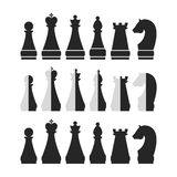 Set of chess Royalty Free Stock Image