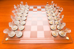 Set of chess figures Stock Images