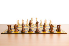 Set of chess figures Royalty Free Stock Image