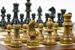 Set of chess figures Stock Photos