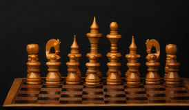 Set of chess figures. Royalty Free Stock Photo