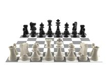 A set of chess pieces Royalty Free Stock Images