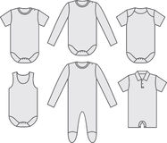 Set of child wear Royalty Free Stock Photo