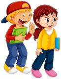 Set of children character. Illustration vector illustration