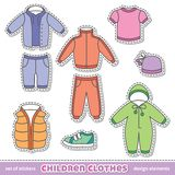 Children clothes Stock Images