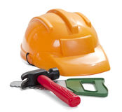 Set of children's toy tools Stock Photography