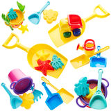 Set of children's toys Stock Photography