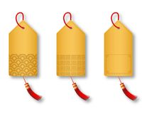 A Set Of Chinese Style Retailing Tag Stock Image