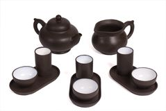 Set for the Chinese tea ceremony Royalty Free Stock Photography