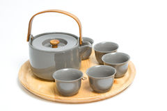 Set of chinese tea ceremony Royalty Free Stock Image
