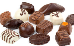 Set Chocolate Candies Royalty Free Stock Photo