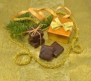 Christmas chocolate Royalty Free Stock Image