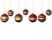 Set of christmas balls Royalty Free Stock Image