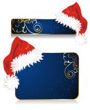 Set of Christmas banners Royalty Free Stock Images