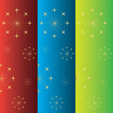 Set of christmas banners Stock Image