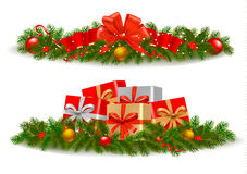 Set of Christmas banners. Vector Stock Images