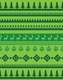 Set of Christmas brashes Royalty Free Stock Image