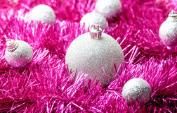 Set of Christmas decoration Stock Photos