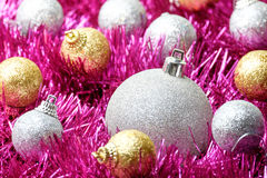 Set of Christmas decoration Royalty Free Stock Images