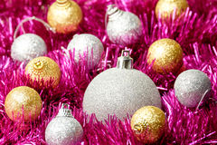 Set of Christmas decoration Stock Photography