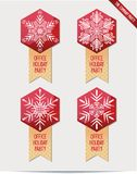 Set of Christmas decorations for your office Royalty Free Stock Photo