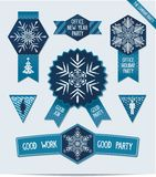 Set of Christmas decorations for your office Royalty Free Stock Photos