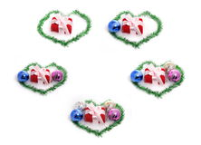 Set of Christmas gift Stock Photo