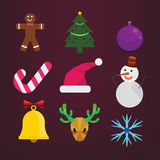 Set of Christmas Stock Images