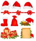 Set of Christmas icons. Royalty Free Stock Image