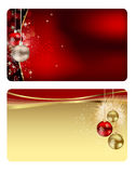 Set of  christmas / New Year banners (cards) Stock Photo