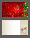 Set of  christmas / New Year banners (cards) Royalty Free Stock Photography