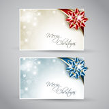 Set of  christmas / New Year cards Stock Photo
