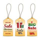 Set of Christmas sale tag, can use for your business or promotion. Set of Christmas sale tag, can use for your business or promotion or use in website. Vector royalty free illustration