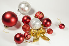 A set of Christmas toys Royalty Free Stock Image