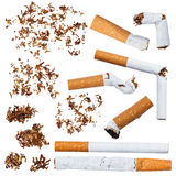 Set of cigarettes Royalty Free Stock Photos