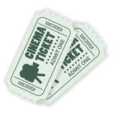 Set Cinema Ticket Stock Images