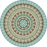 Set of Circle Frames. Set of  floral retro frames Royalty Free Stock Image