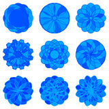 Set of Circle Geometric Ornaments. Vector Stock Images