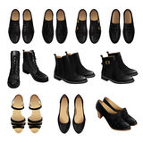 Set of classic shoe style. Stock Images