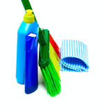 Set for cleaning Royalty Free Stock Photography