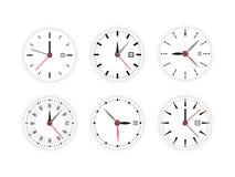 Set clock dial timer Royalty Free Stock Image