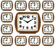 The Set Clock Time Stock Photography