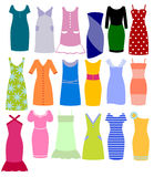 Set of clothes Royalty Free Stock Photos
