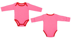 Set of clothes for babies and children, isolation Royalty Free Stock Image