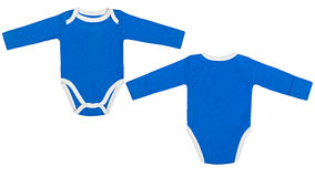 Set of clothes for babies and children, isolation Stock Images